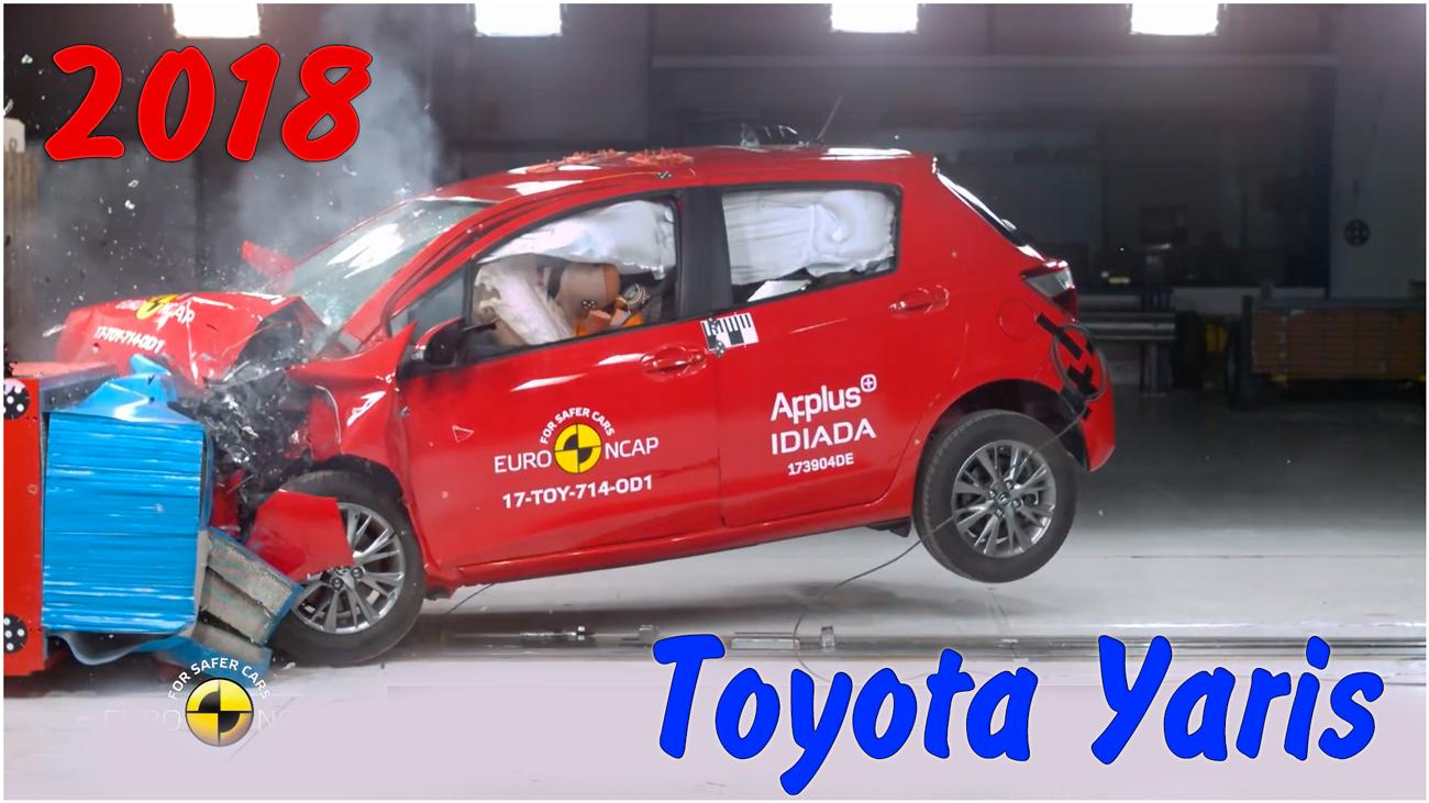 Краш тест Toyota Yaris 2018