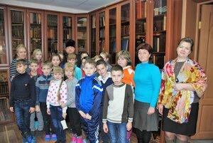 Встреча со школьниками в духовно-просветительском центре
