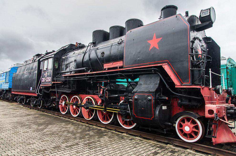 17. Паровоз Типа 1-5-0 серии Л №1259. Построен в 1949 году на Брянском паровозостроительном заводе.
