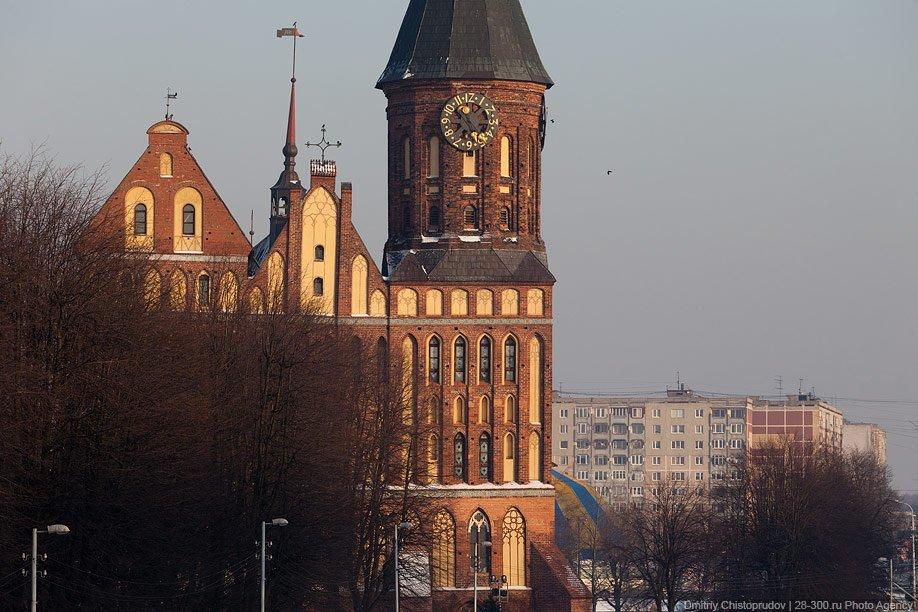 Это уже Советск  (бывший Тильзит). Большой городок и 2-й по численности населения в