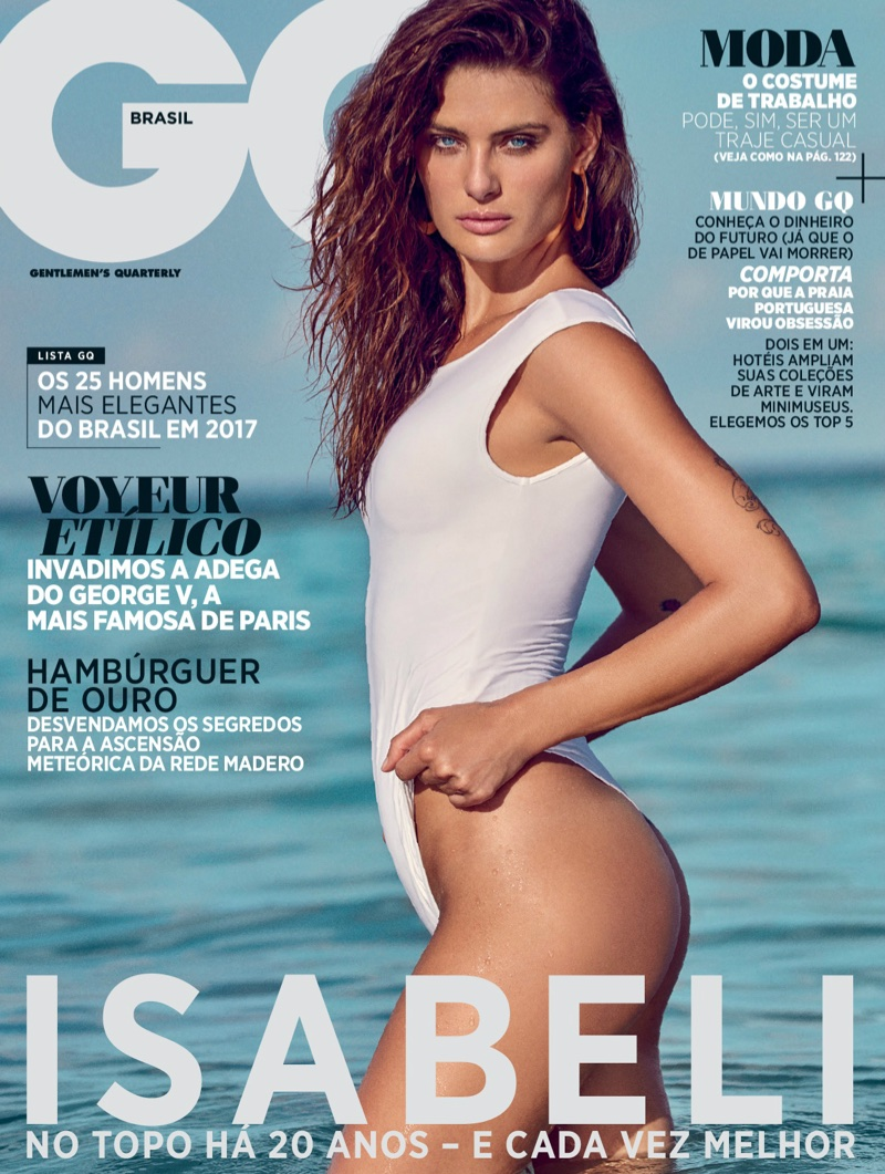 Изабели Фонтана для бразильского GQ