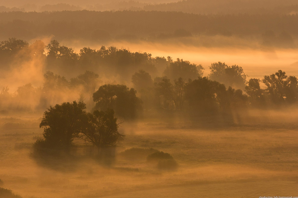 Самое большое количество туманных дней на уровне моря — в среднем более 120 в году — наблюдается на