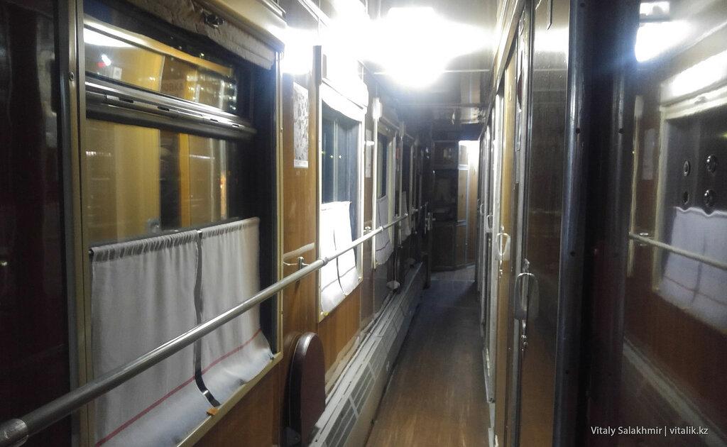 Поезд Москва-Краснодар.