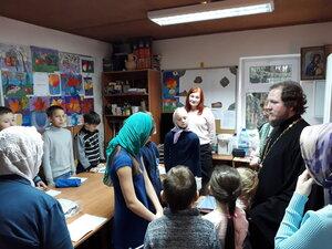 Экологический урок в воскресной школе Спасского храма города Солнечногорска