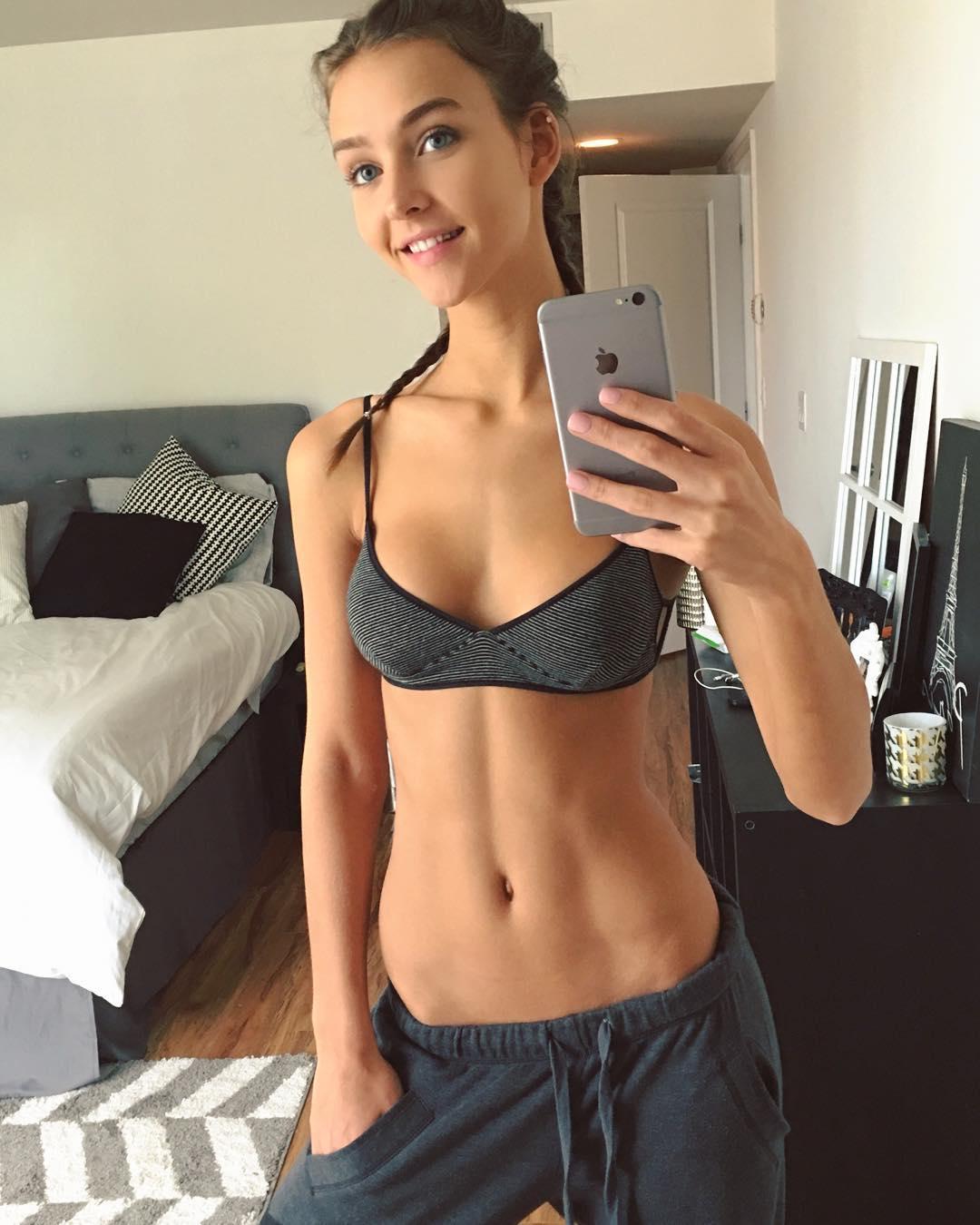 Nude skinny self — 6