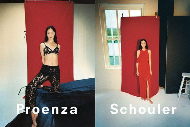 Mariacarla Boscono is the Face of Proenza Schouler SS18 Collection