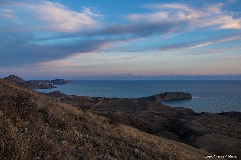 Теплый ноябрьский вечер в Крыму