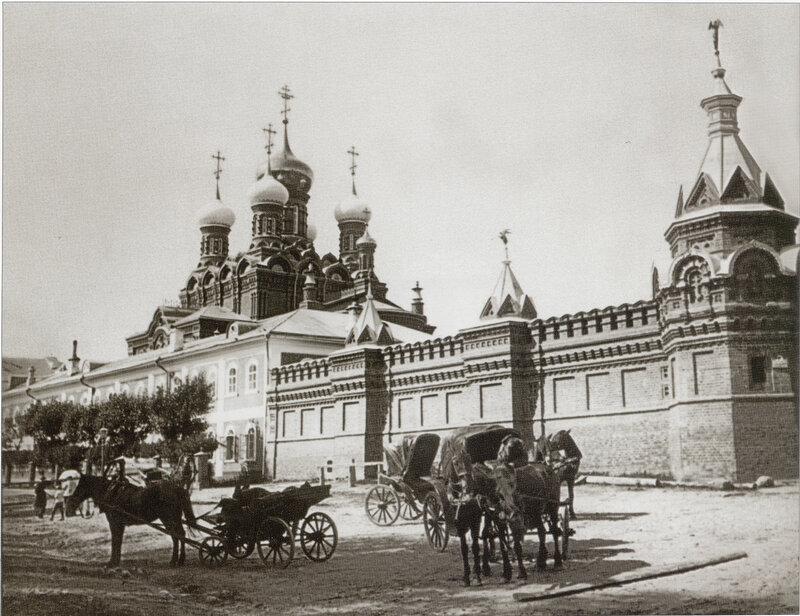 Гефсиманский скит Троице-Сергиевой лавры. Фото нач 20 века