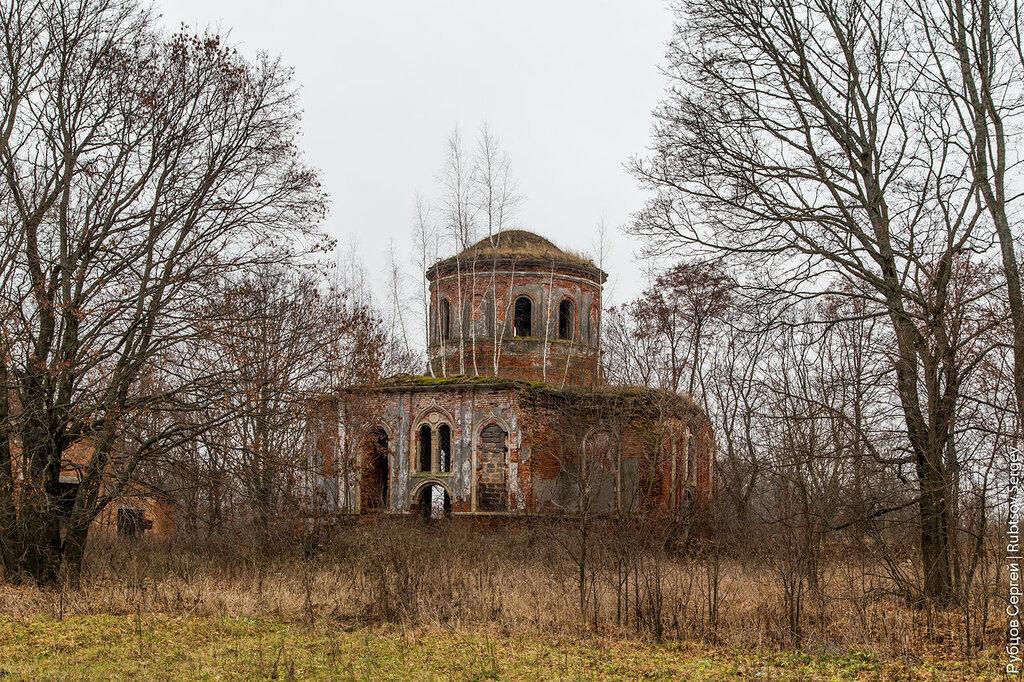 Храм в Архангельском, где крестили композитора Даргомыжского
