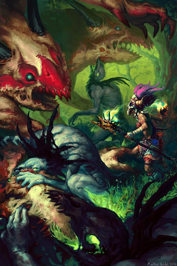 Fantasy Illustrations by Markus Neidel