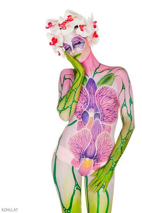 Amazing Body Painting - Nadja Hluchovsky