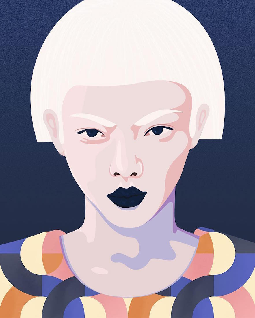 Colorful Pop Illustrations by Petra Eriksson