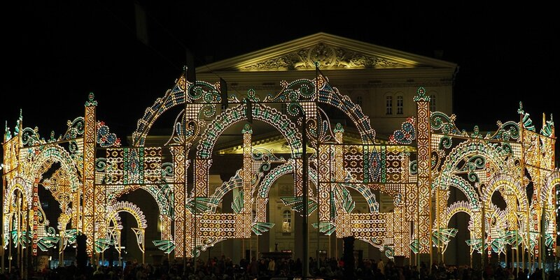 Новогодняя Москва (New Year Moscow)