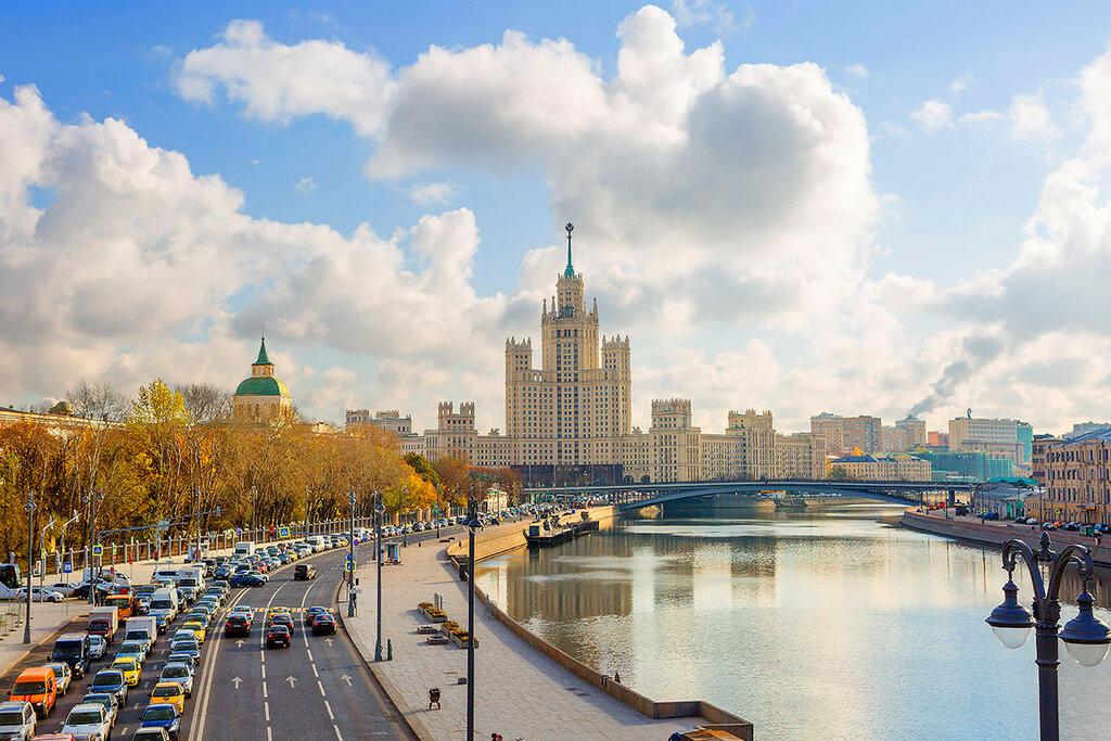 Люблю осеннюю Москву...