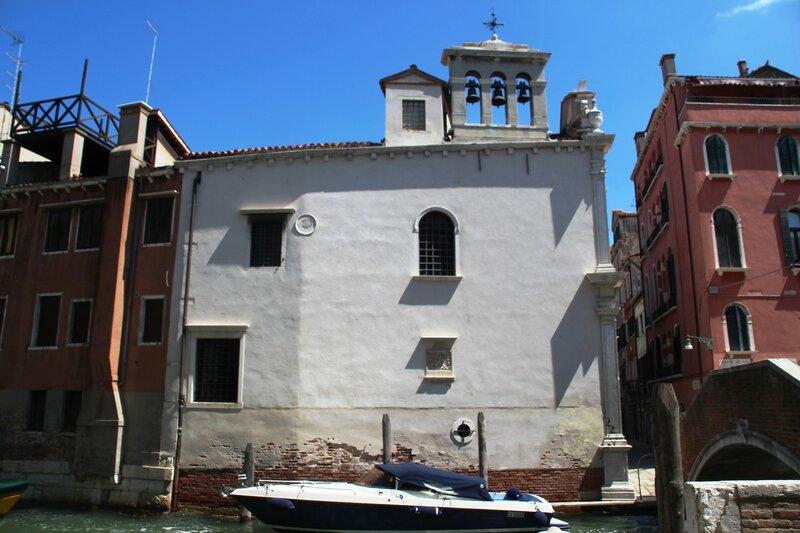 Венеция. Скуола ди Сан-Джорджо дельи Скьявони.