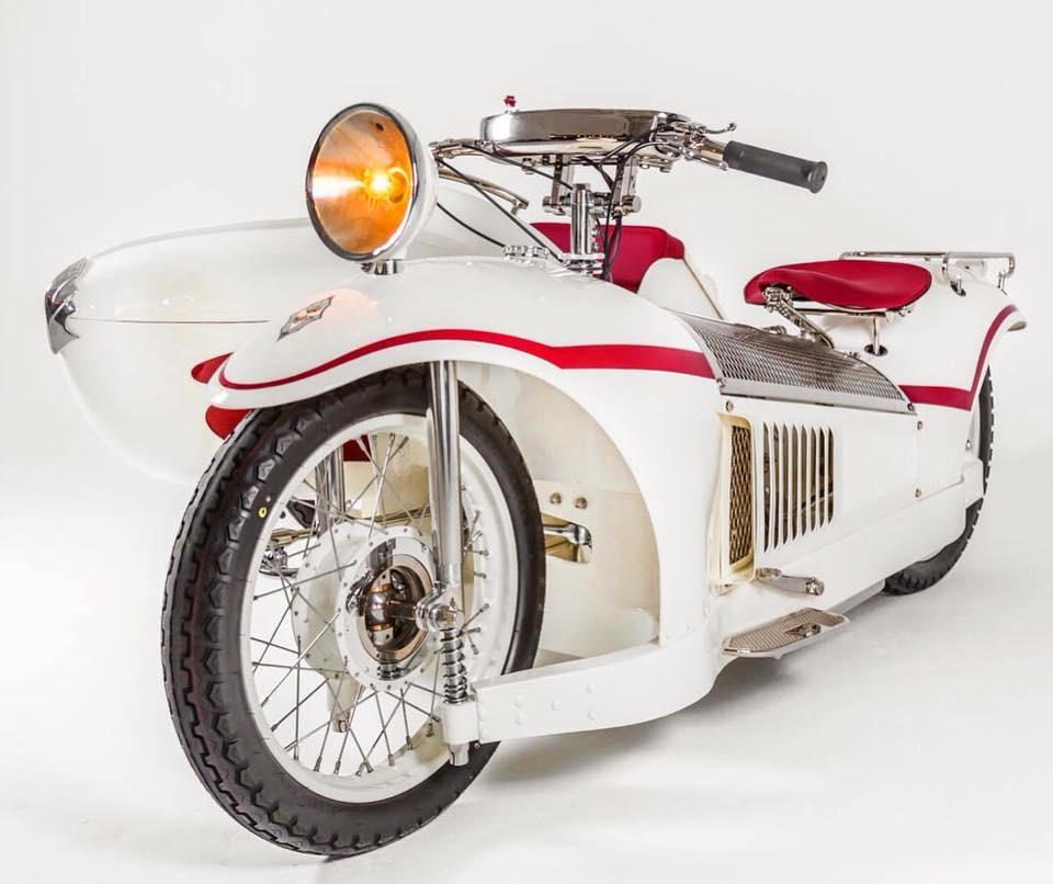 Heroes Motors: отреставрированный мотоцикл Majestic 1930 с коляской Bernadet