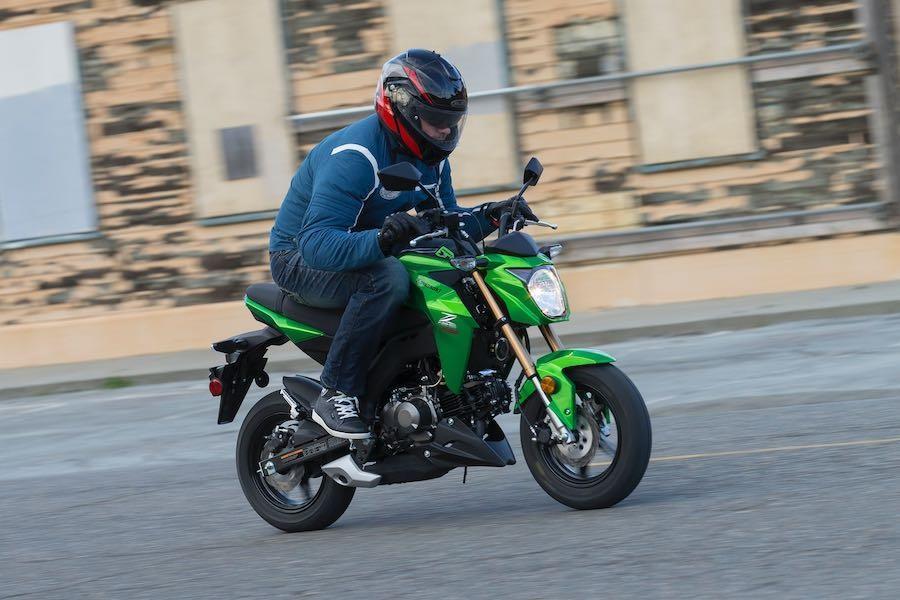 Минибайки Kawasaki Z125 Pro / Pro KRT отзывают из-за возможной остановки мотора