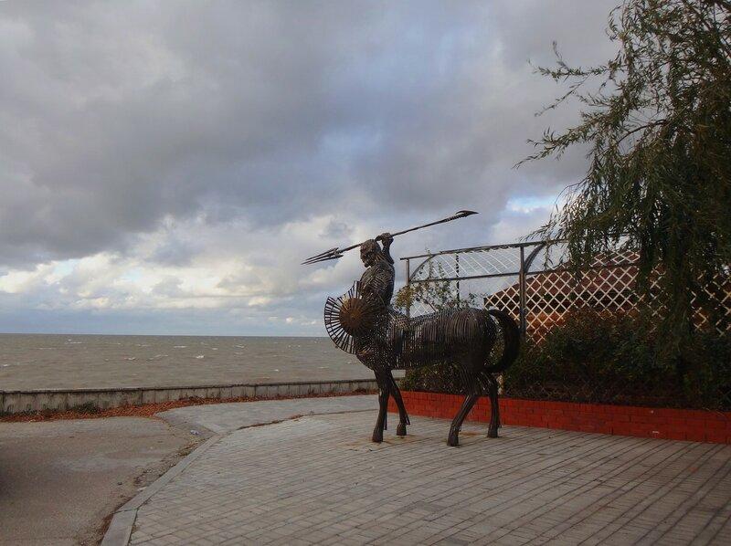 У моря и кентавра ... На финише октября, в городе у моря Азовского. (37).JPG
