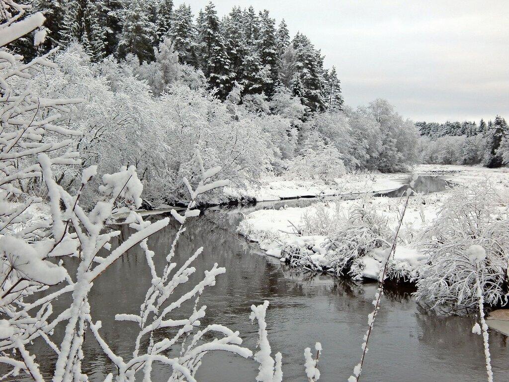 Речка в декабре