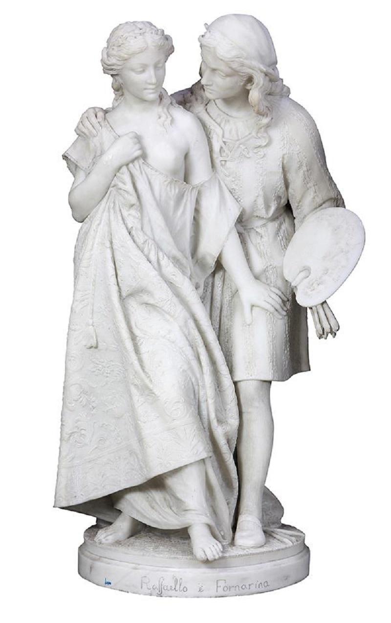 Raffaello and Fornarnina , circa 1895.jpg