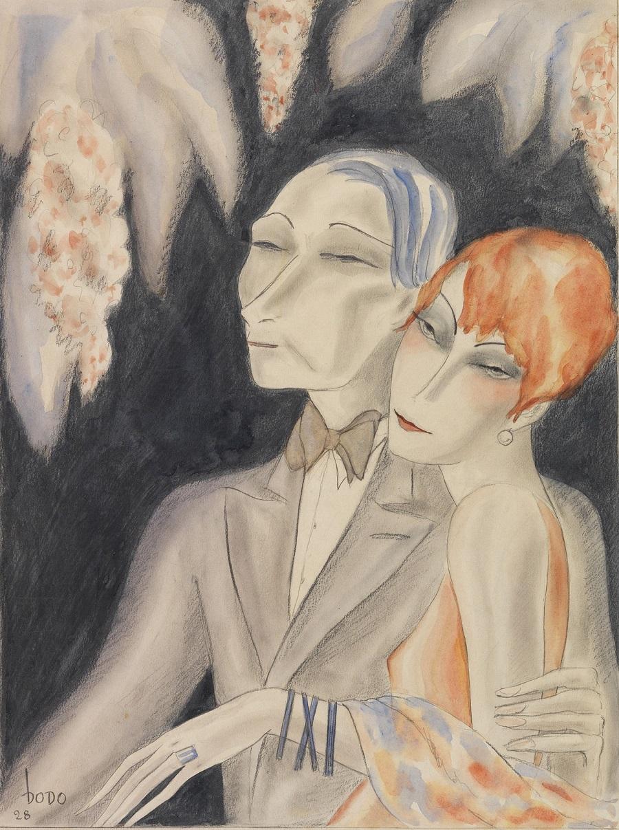 1928 Сближение полов (Annaherung der Geschlechter)