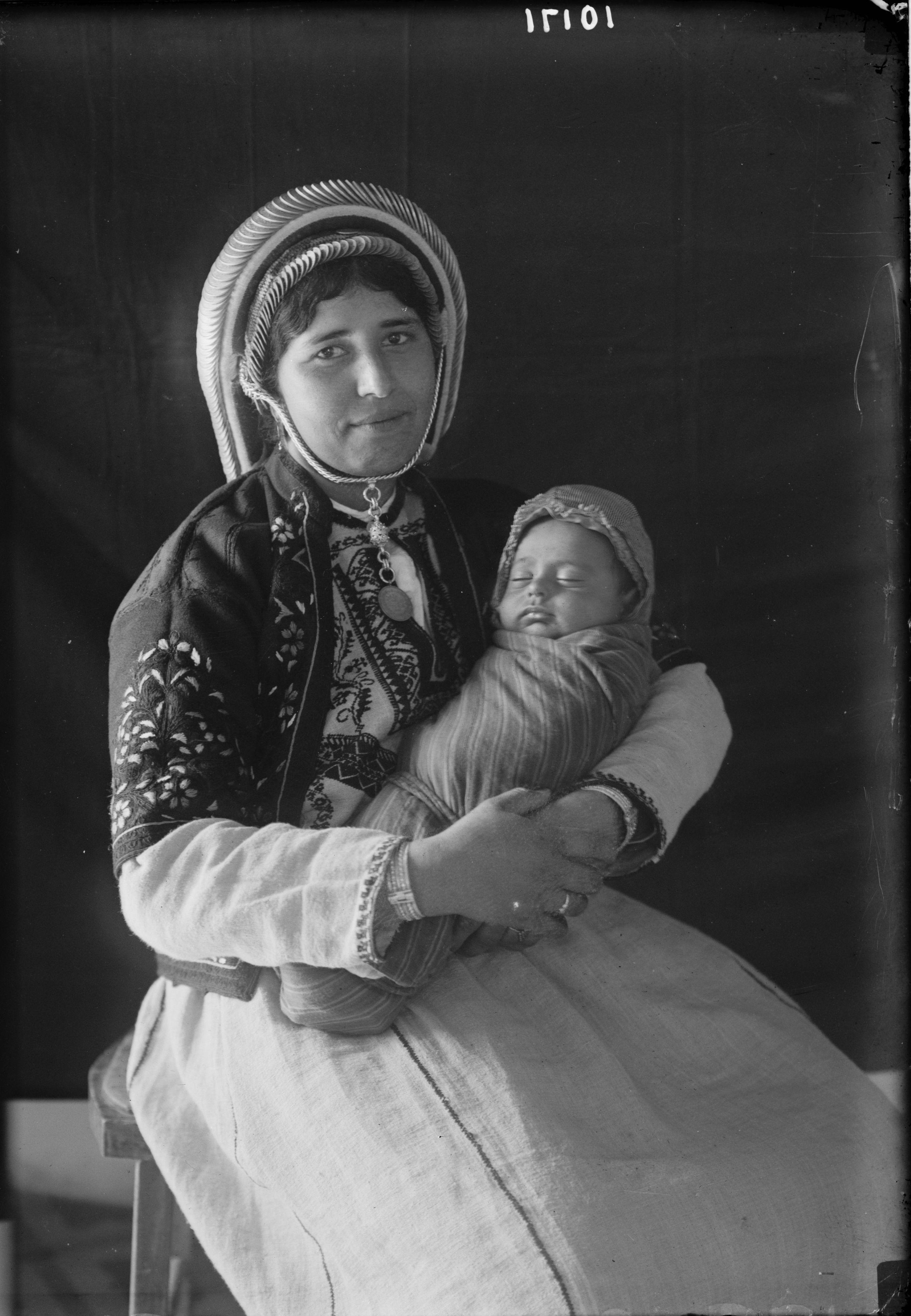 1934. Палестинская мадонна