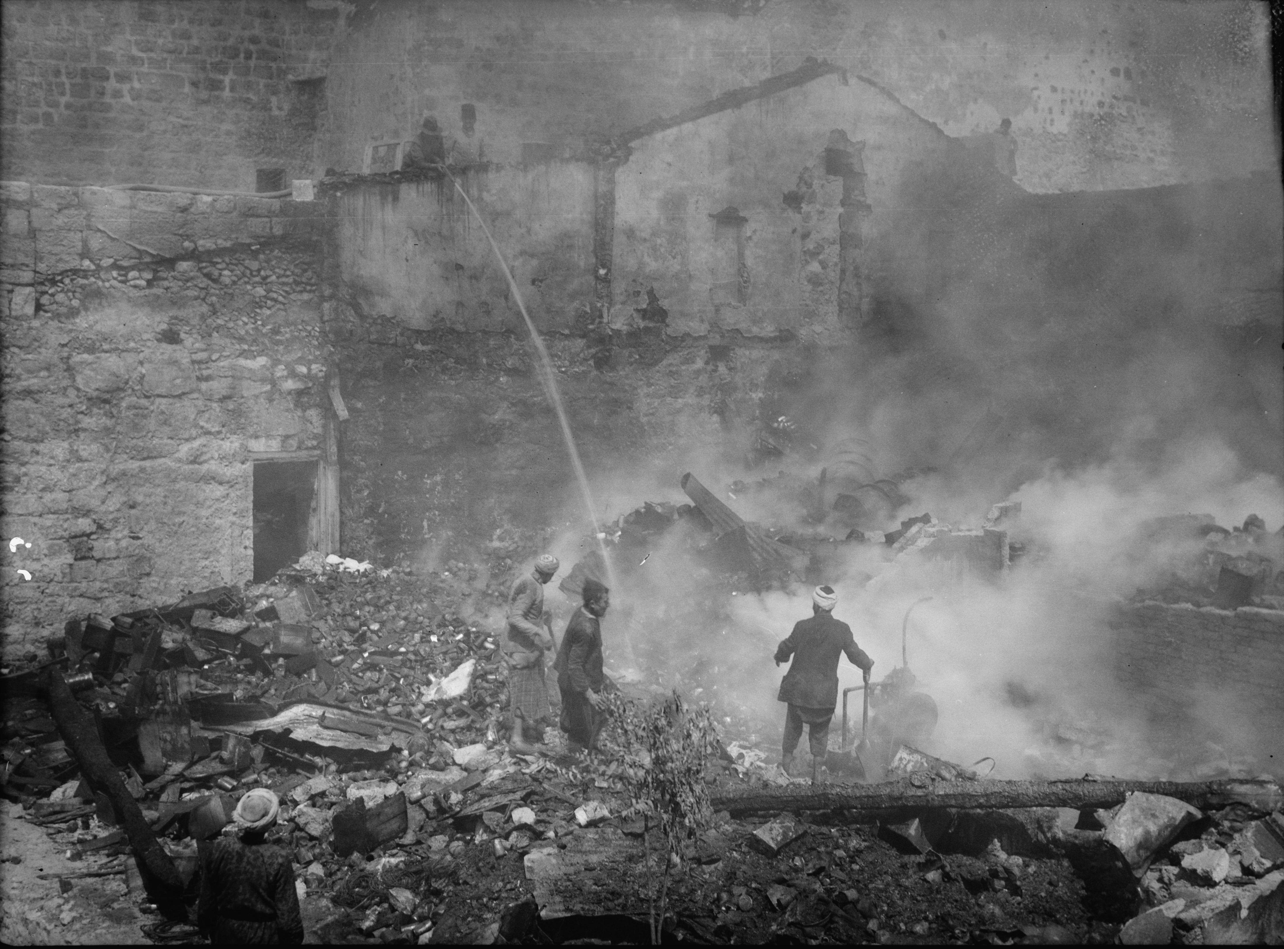 1936. Арабы устраивают погром в Армянском квартале Иерусалима