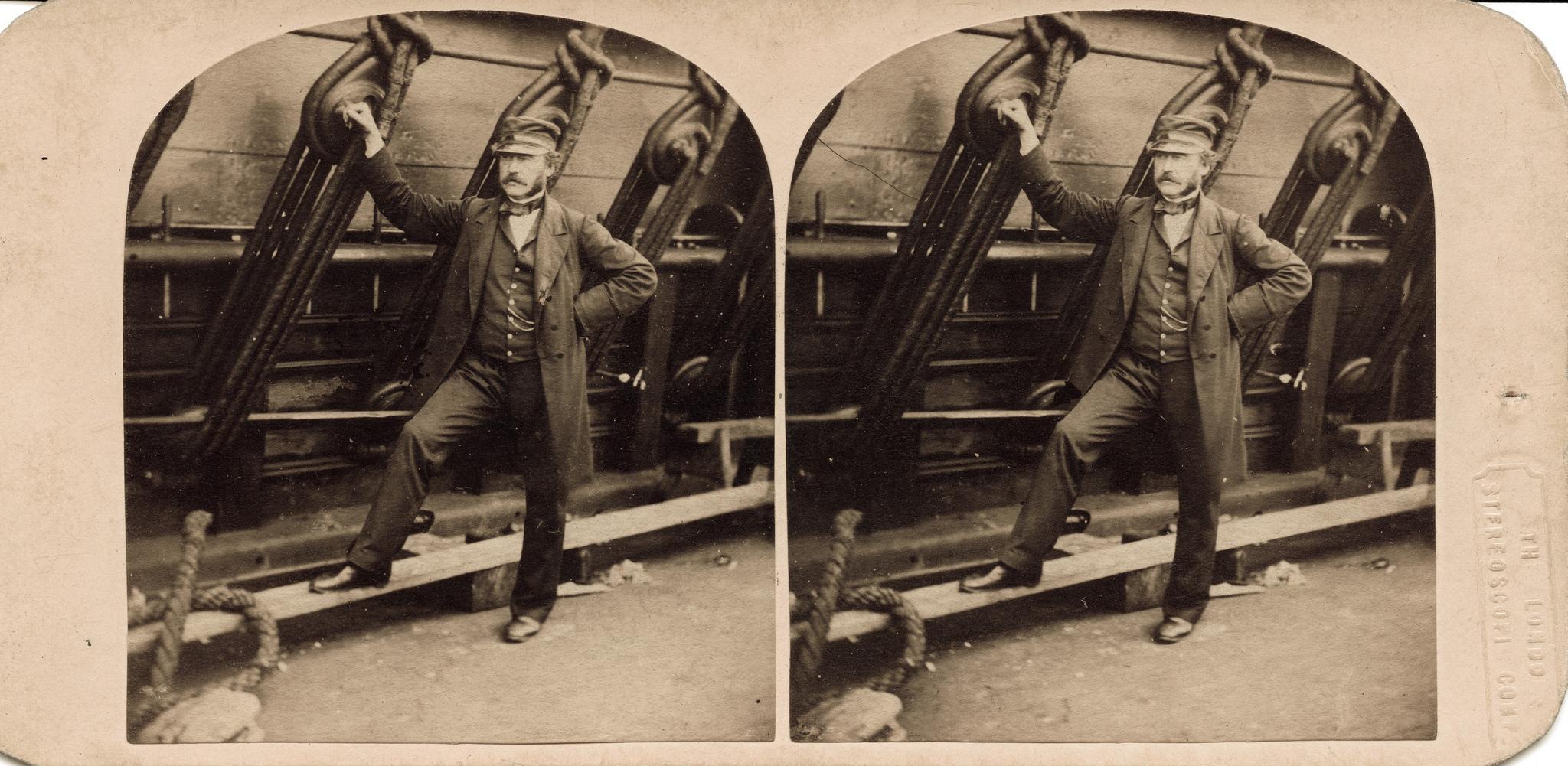 1857. Капитан Харрисон