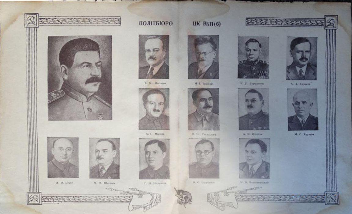 1946. Политбюро ЦК ВКПб