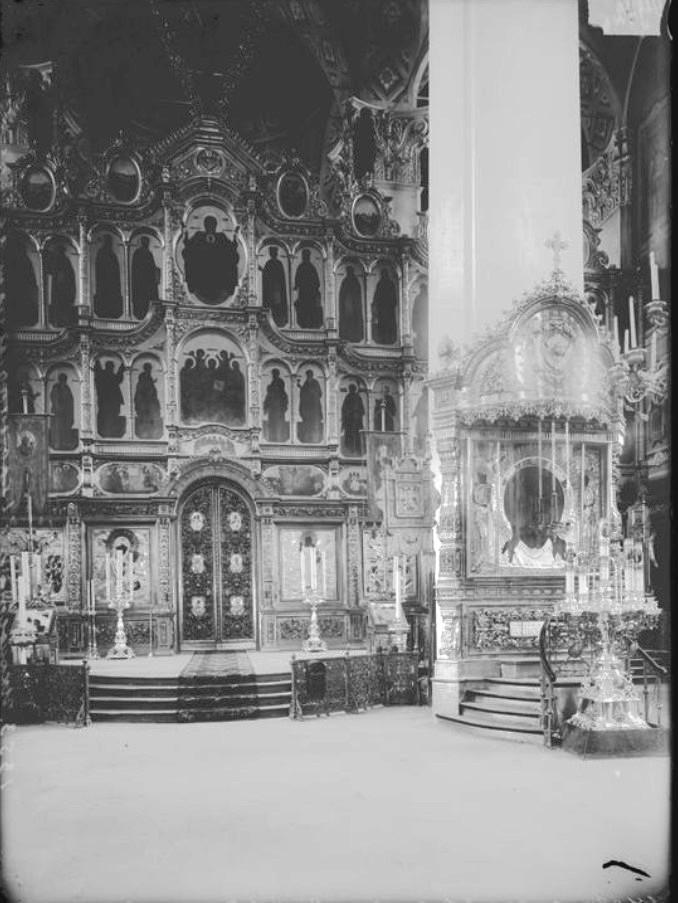 Нижегородский Кремль. Спасо-Преображенский Кафедральный собор. Иконостас главного алтаря
