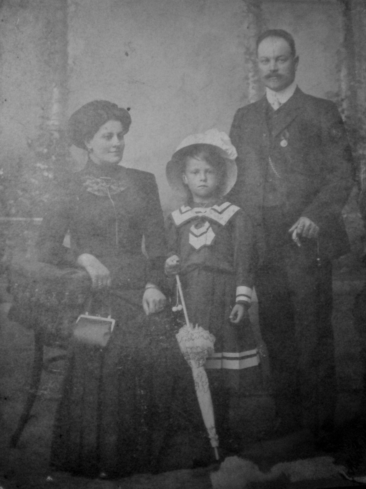 Семья Первушиных. 1911
