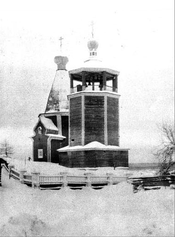 Окрестности Пинеги. Церковь Покрова Пресвятой Богородицы в Сояле
