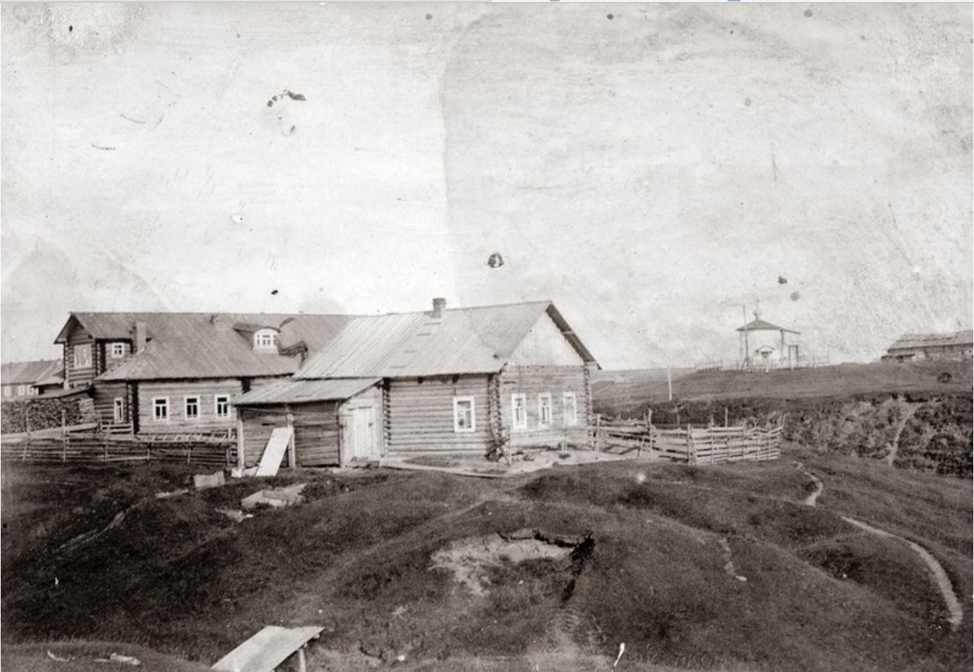 Дом на Иньковом ручье