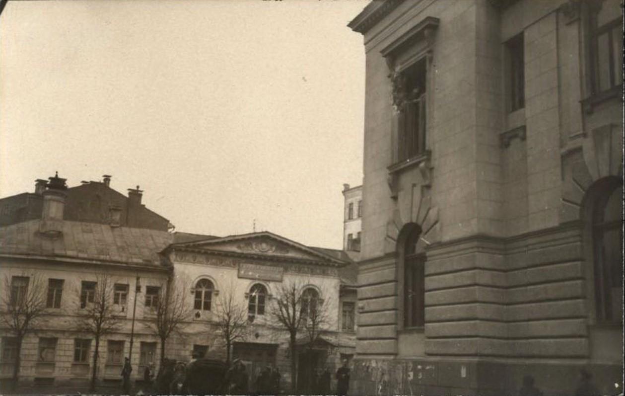 Поварская улица. Дом Титовской школы