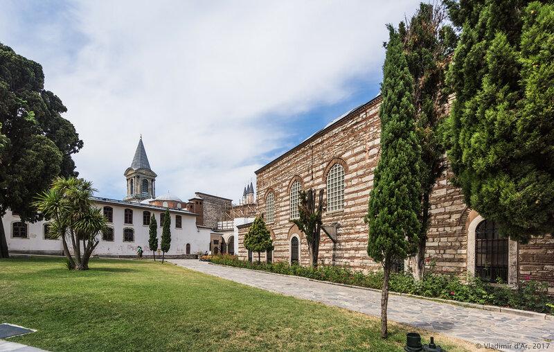 Дворец Топкапы в Стамбуле. Третий двор Эндерун (Enderun).