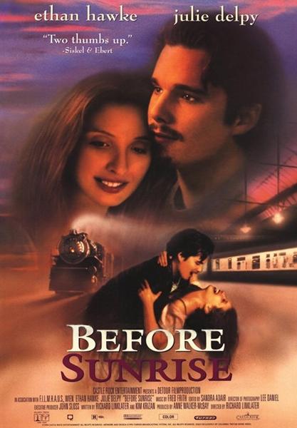 Перед рассветом / Before Sunrise (1995/BDRip/HDRip)