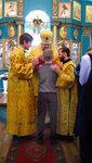 2016. Архиерейское богослужение епископа Костромского и Галичского в Солигаличе. Причастие.
