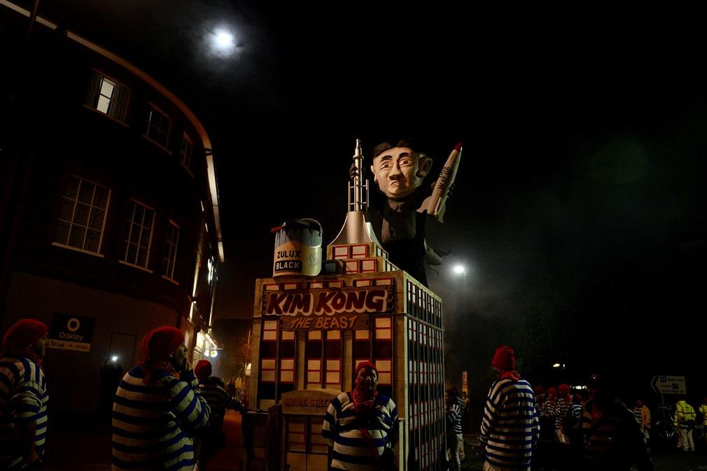 Ночь Гая Фокса в Великобритании
