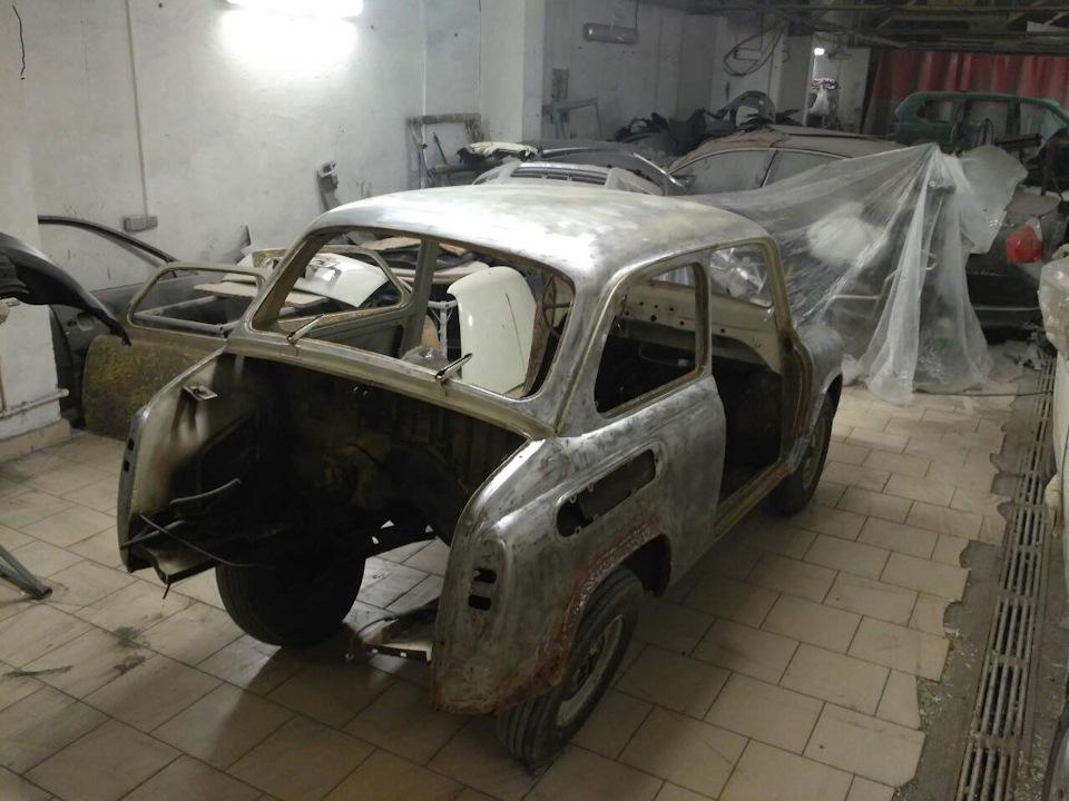 Реставрация ЗАЗ 965А 1967 года выпуска