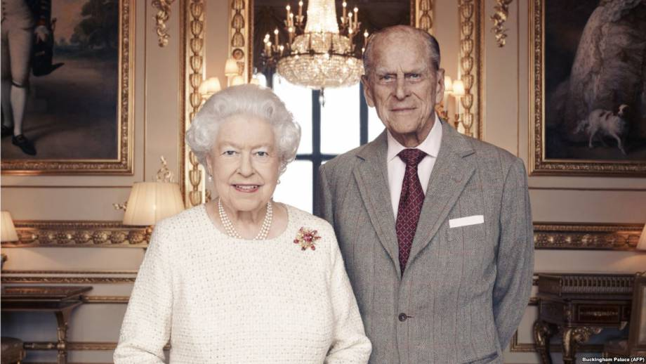 Королева Елизавета II и принц Филипп отмечают 70-летие брака