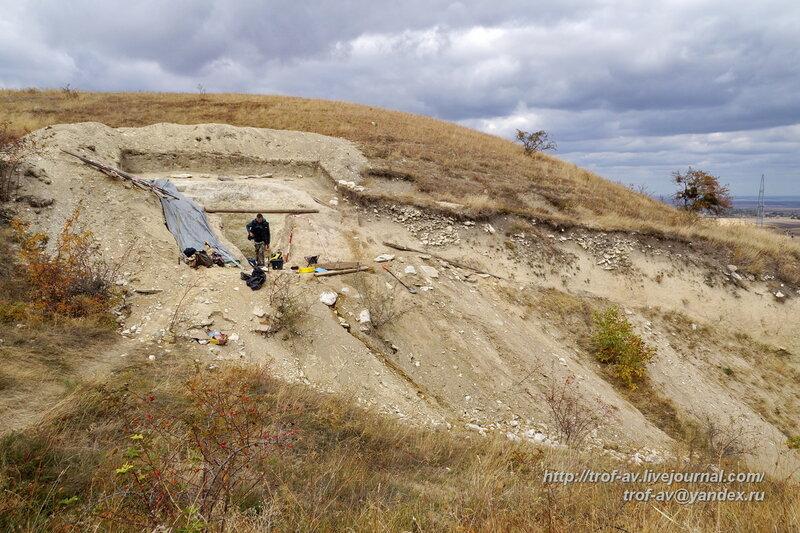Спасательные археологические раскопки кургана со скифскими погребениями, Крым