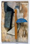 Иван Пуни «Рельеф» 1915-16 г. Масло, дерево, картон и цинк.