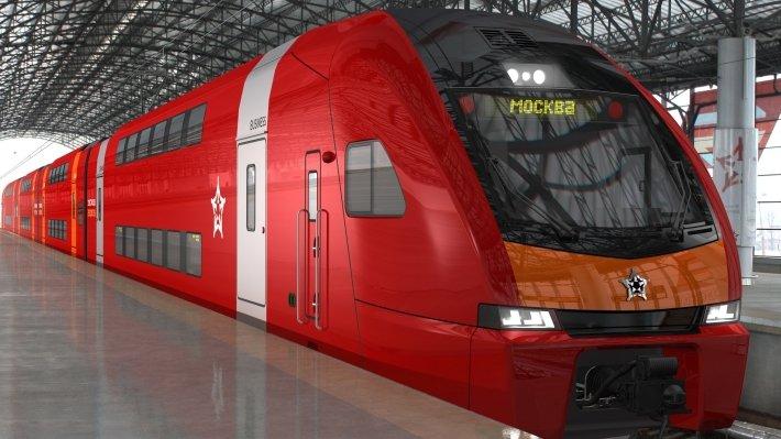 В Москве запустят двухэтажный «Аэроэкспресс»