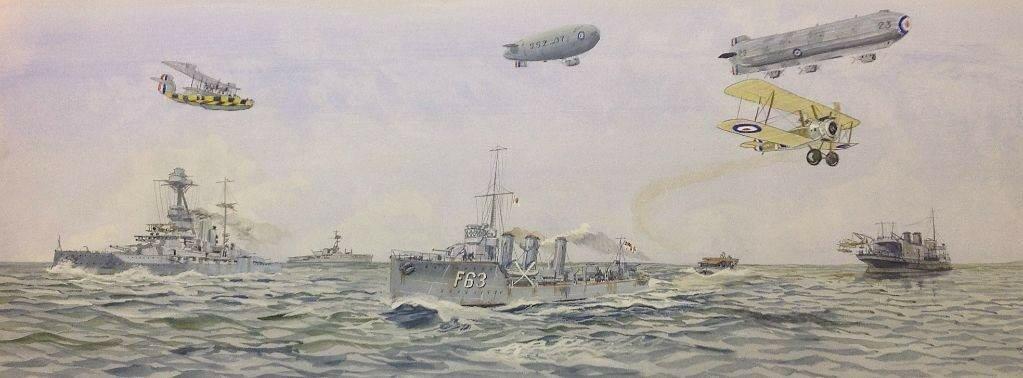 Montage,British Naval Aviation in WW1.