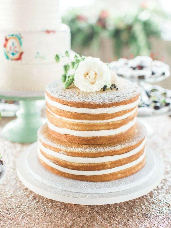 0 1782ee ae11cd49 XL - Каким будет ваш свадебный торт в 2018 году