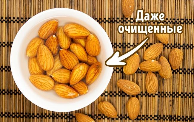 © depositphotos     Мыть  орехи  нужно всегда, даже очищенные. Ведь мыточ