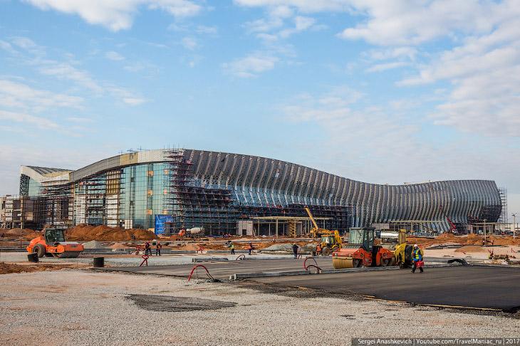Стройка Века–2. Как строят новый крымский аэропорт (27 фото)