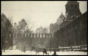 Успенский собор с набережной реки Москвы