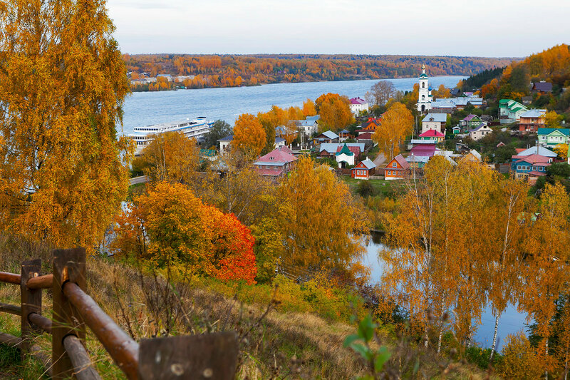 Plyos is a town in Privolzhsky District of Ivanovo Oblast, Russia