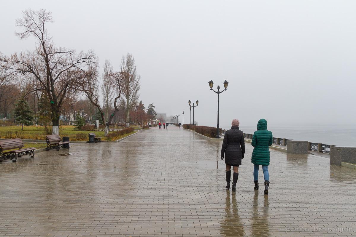 Самара набережная туман фото 5
